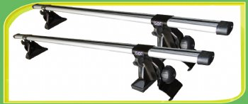 Aluminum Roof Bars Universal for car without channel gutters - QEE Rack